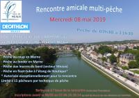 Affiche Amicale multi-pêche 2019