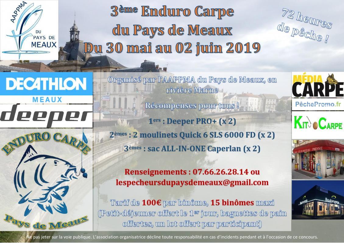 Affiche Enduro Carpe 2019