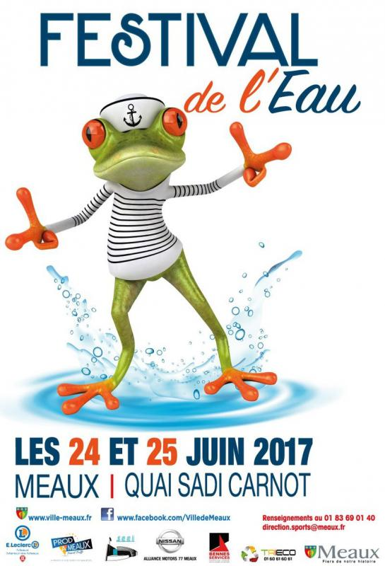 Affiche festival de l eau 2017