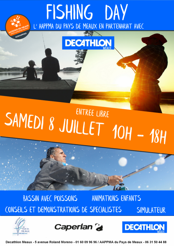 Affiche fishing day 2017
