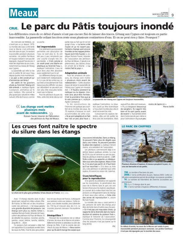 Article la marne 09 mai 2018