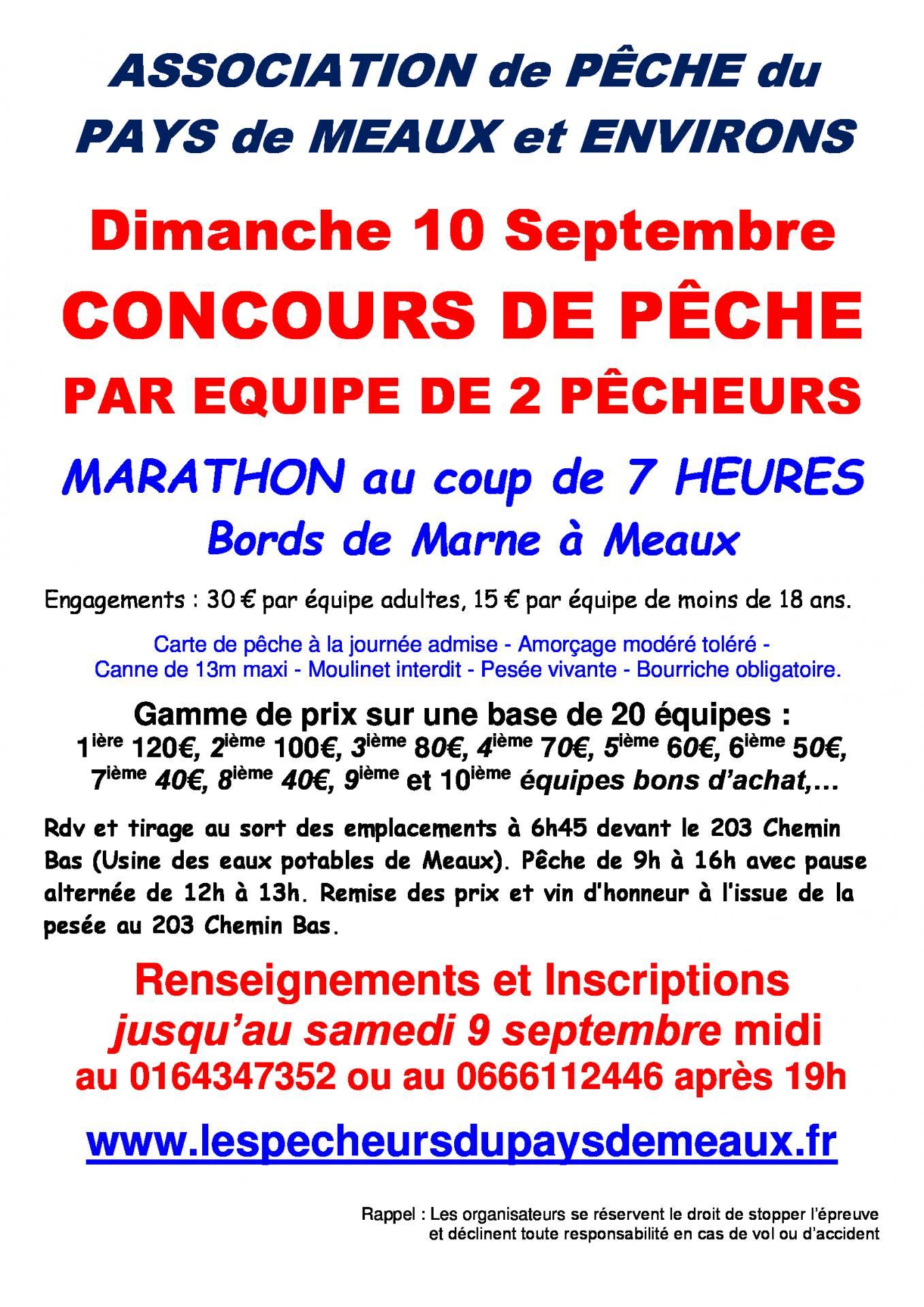 Concours de p che marathon au coup en bin me - Concours de peche au coup ...