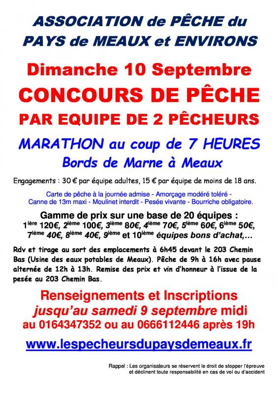 Marathon equipe pays de meaux