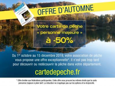 Offre ' automne carte 2019