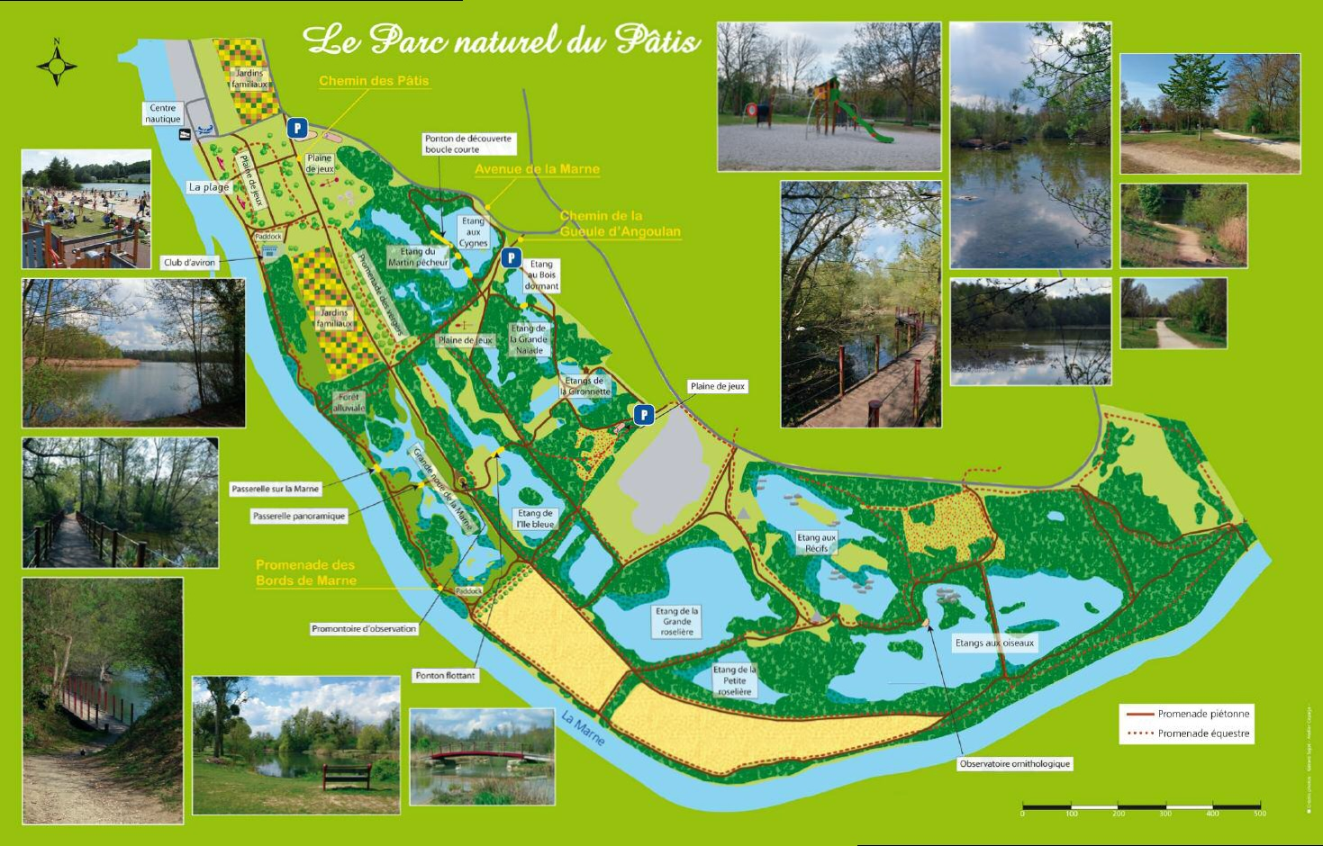 Plan parc du patis