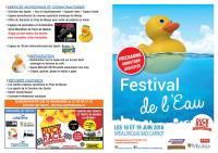 Programme Festival de l'Eau 2016 1